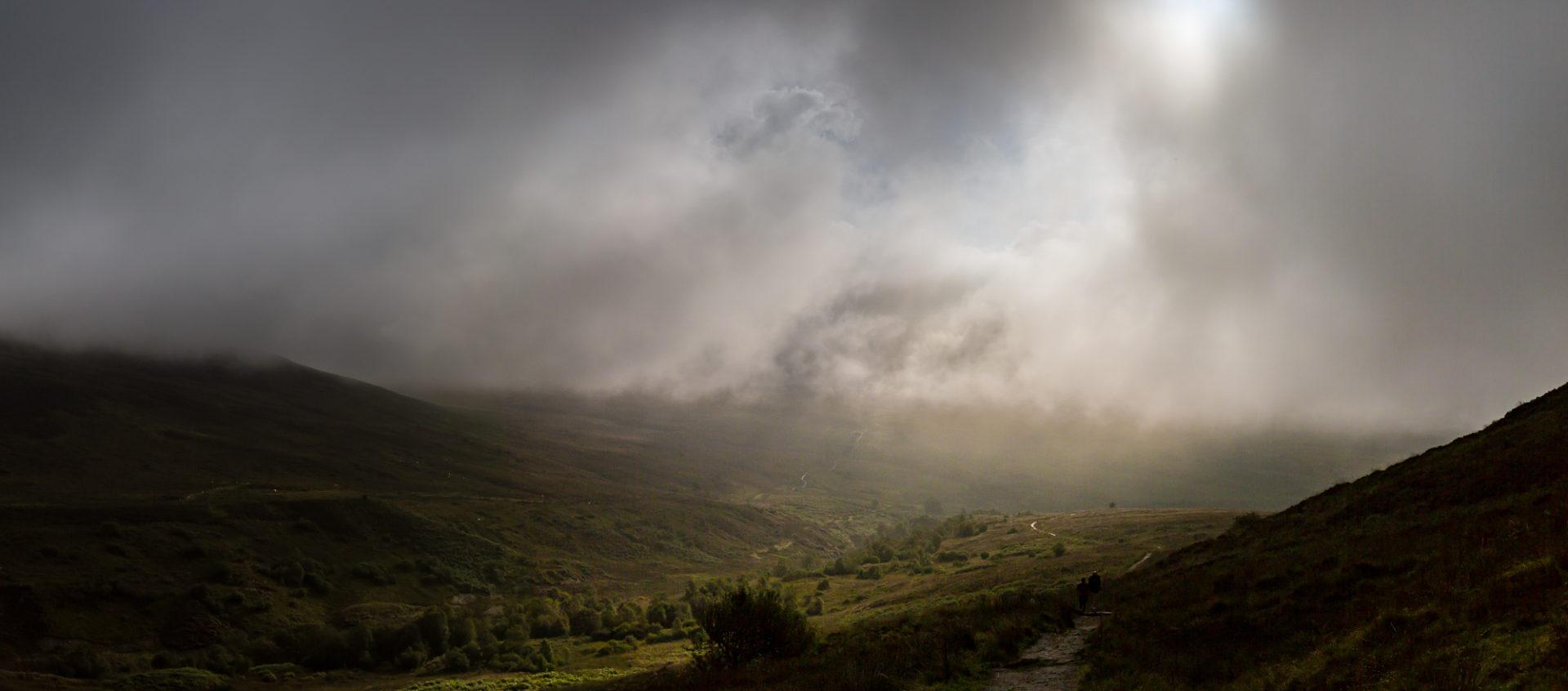 Morgendliche Aussicht vom Conic Hill