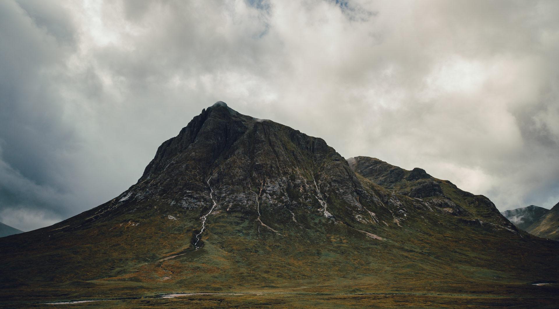 Stob Dearg der höchste Munro des Buachaille Etive Mòr.