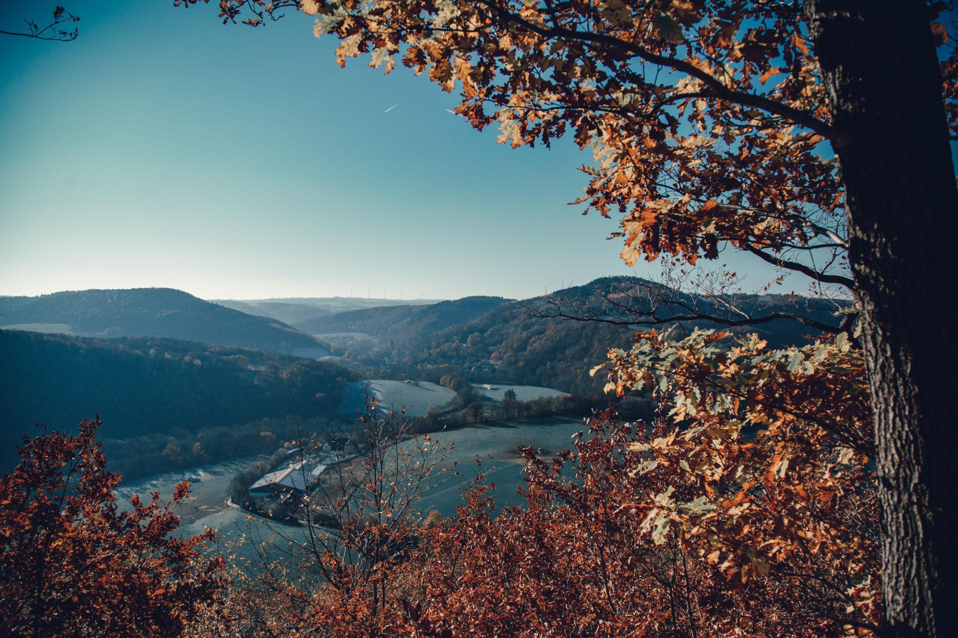 Aussicht in der Eifel